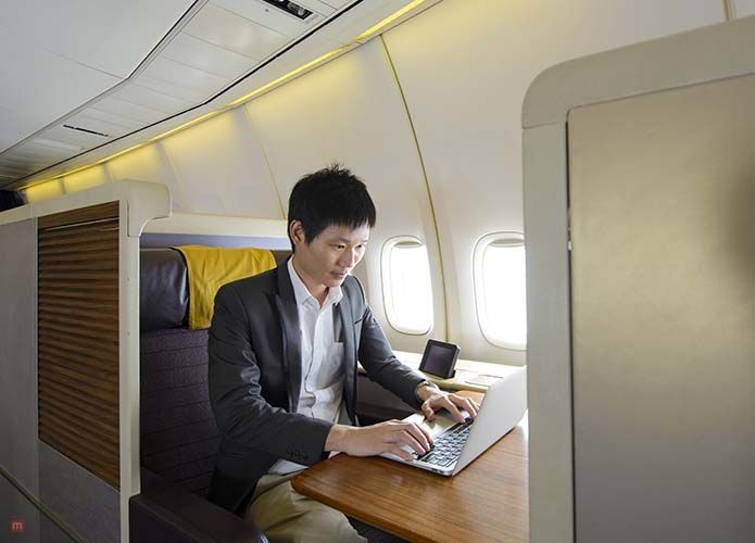 We're giving you a glimpse of Singapore Business Class. This is what you can expect when you travel in luxury.   #Business #Class #to #Singapore
