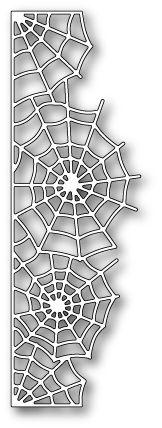 Poppy Stamps - Die - Spider Web Border,$12.99