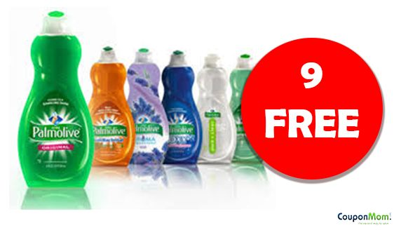 Week of 1/15 Get 9 FREE Palmolive Dish Soap - Just Print Coupon - CouponMom Blog