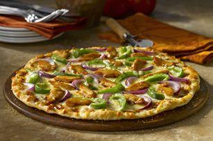 California-Style Barbecue Chicken Pizza #recipe