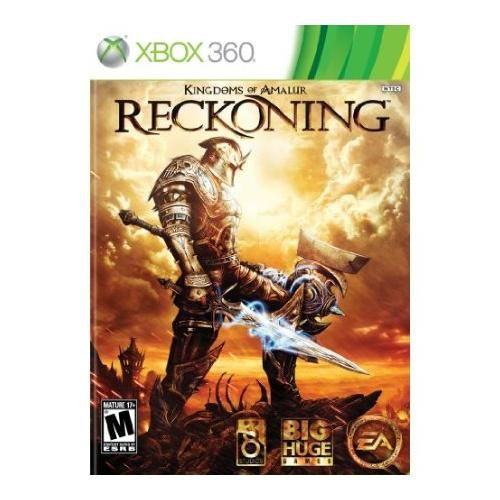 "Kingdoms of Amalur: Reckoning   Xbox 360 Kingdoms of Amalur: Reckoning is a single player Action Role-playing Game (RPG) set in the brand-new game fantasy universe of Amalur. The game features an expansive Open World game environment, the unique ""Destinies"" system that limits character development only by the read more$21.99  http://shopandsavedeals.blogspot.com/"