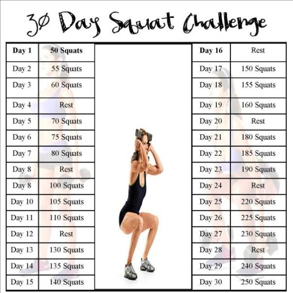 30 day squat challenge added this to my workout :0) by virgen.ibarra.5