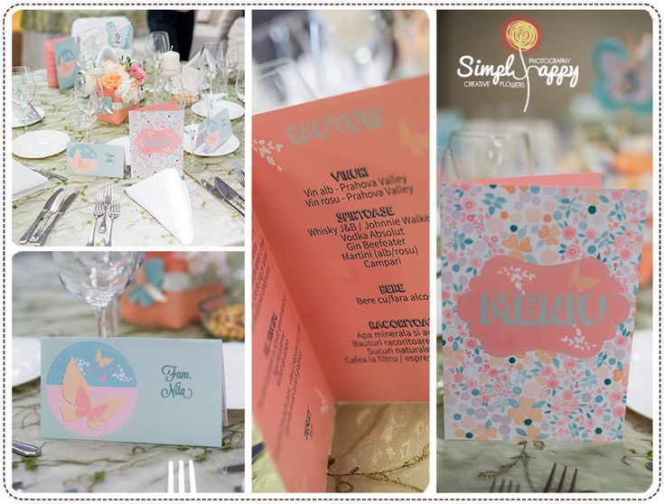 Baby Girl Christening Party Theme by Simply Happy - Peach & Mint