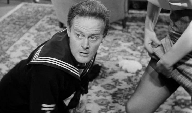 som Peter, i Sømænd og svigermødre fra 1962.