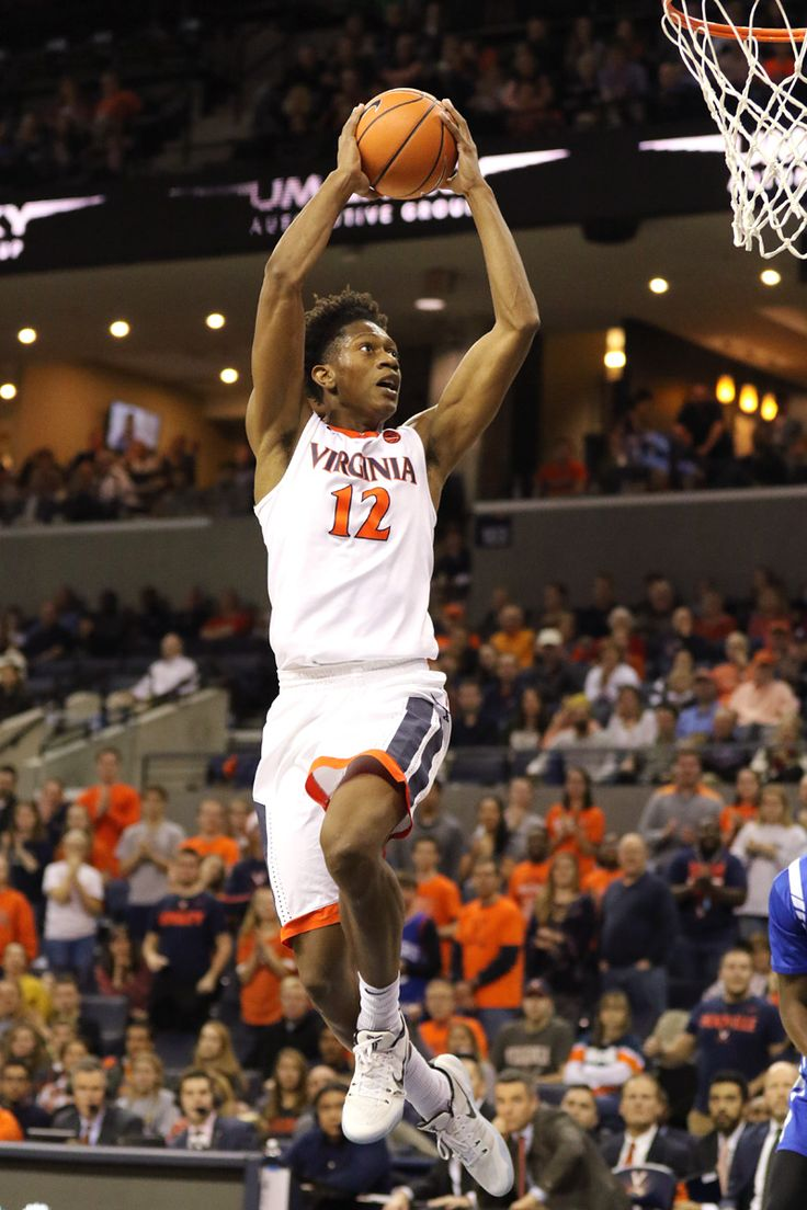 DeAndre Hunter Uva basketball, Uva sports, Virginia