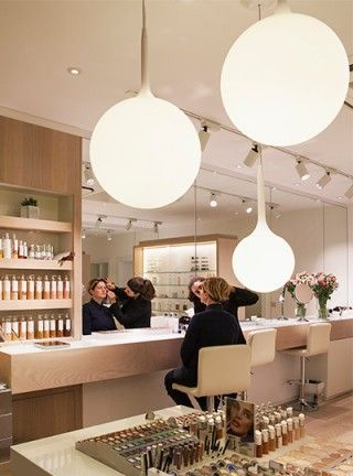 ... Hairdressers salon on Pinterest Barber shop, Creative and Colour