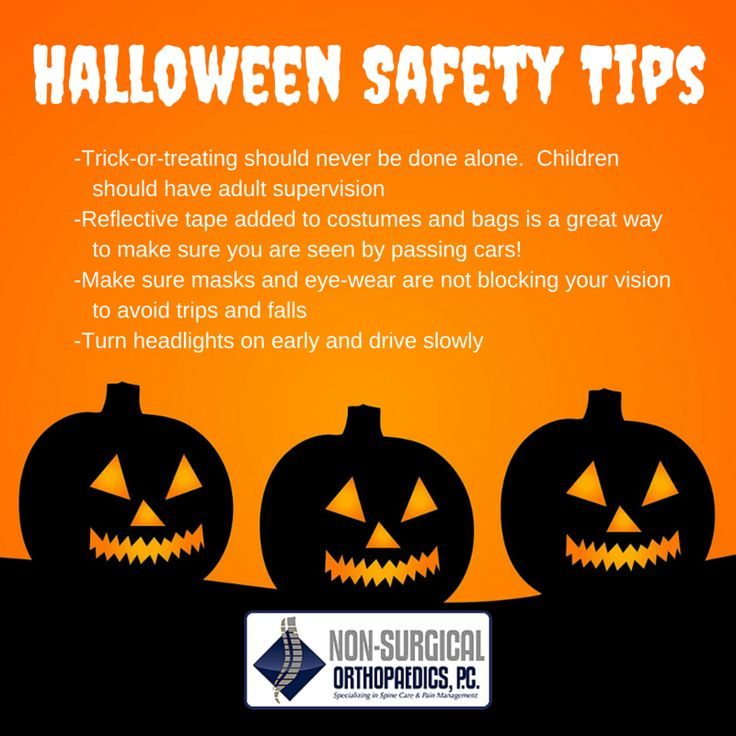 Stay safe this Halloween with our tips! trickortreat