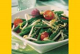 Recept voor Geroosterde haloumi met zomergroenten en orzo | Solo Open Kitchen