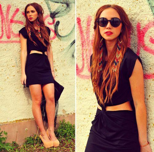 : Summer Dresses, Red Hair, Urban Summer, Hot Dresses, High Low Skirt, Outfit, Summer Vibes, Hair Accessories, Lisa Olsson