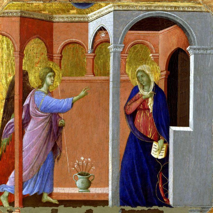 Duccio di Buoninsegna, Annunciazione (National Gallery)