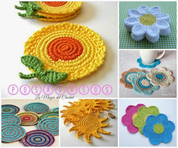 The Magic Crochet: COASTER Crochet
