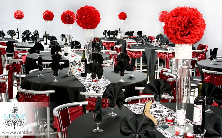 17 best images about red black and white wedding damask wedding on pinterest ontario wedding. Black Bedroom Furniture Sets. Home Design Ideas