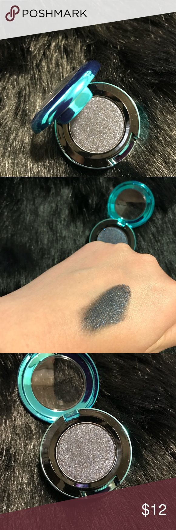 LE MAC color drenched glitter eyeshadow swatched only. color name pictured. MAC Cosmetics Makeup Eyeshadow