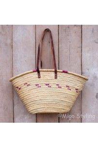 Leuke gevlochten schouder tas #MIGOSTYLING #zomer #riet