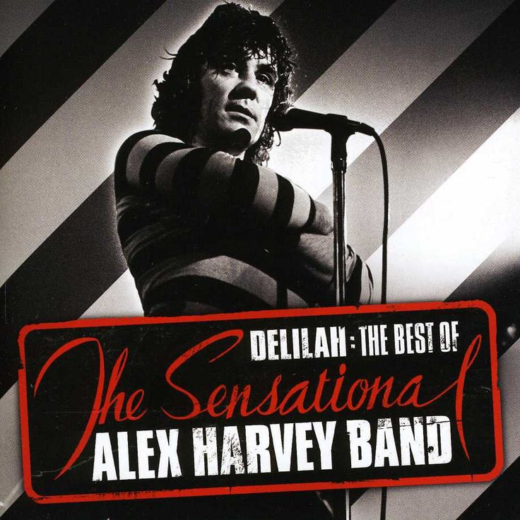 Sensational Alex Harvey Band - Delilah: The Best Of, Black