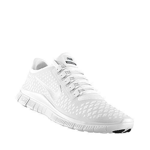 nike factory outlet NIKE Free Run iD - all white - add married name and  wedding date on back (personalize) post ceremony (reception shoes) nike  shoes outlet