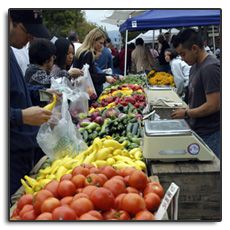 Sunday is Market Day at Campbell Farmers' Market in California 9am - 1pm on Campbell Avenue at Central Avenue http://www.farmersmarketonline.com/fm/CampbellFarmersMarket.html