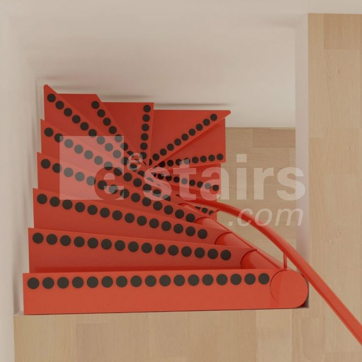 Compact Spiral Staircase: Space Saving Stairs