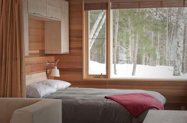 Kleines Schlafzimmer Mit Grosser Fensterfront Einrichten Kleines