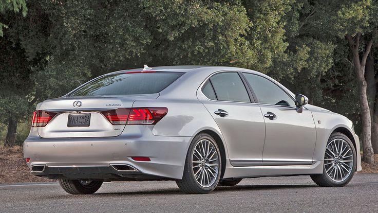 2019 Lexus LS 460 Exterior Changes