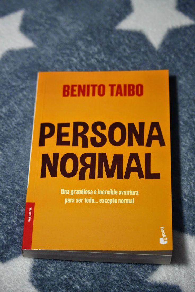 alii in the Wonderland: Persona normal - Benito Taibo
