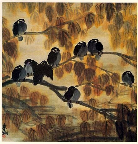 Lin Fengmian (Chinese; 1900-91) - Autumn