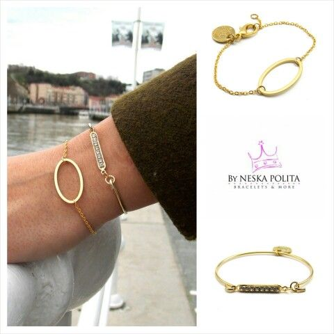 Minimal Collection  www.byneskapolita.com #pulseras
