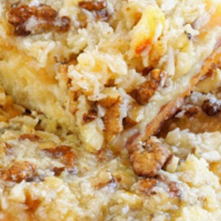 Cake Mix Italian Cream Cake Recipe   Just A Pinch Recipes