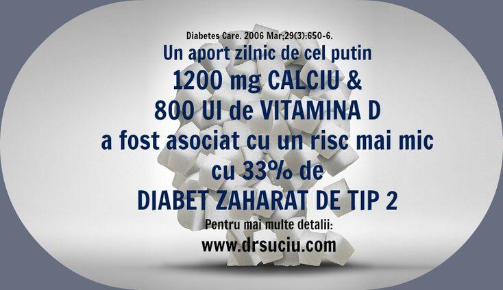 Rolul calciului si al vitaminei D in Diabetul de tip 2