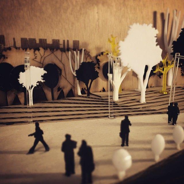 """""""#atelier13 #laser #lasercut #acrilic #architecturalmodel #design"""""""