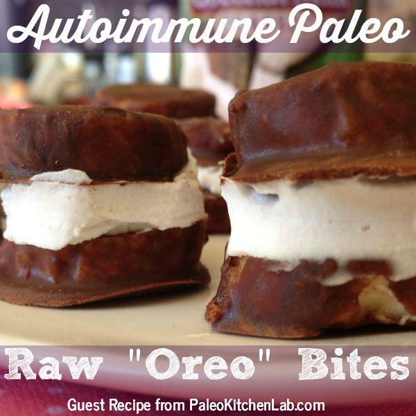 "Autoimmune Paleo Raw ""Oreo"" Bites"