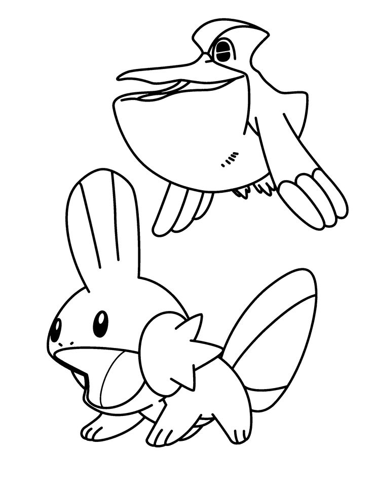 pokemon group coloring pages - photo#39