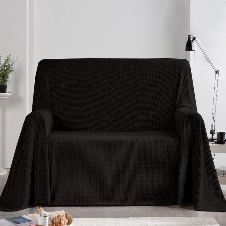 M s de 25 ideas incre bles sobre sof negro en pinterest - Foulard para sofa ...