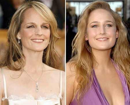 Helen Hunt Leelee Sobieski. Did you lose your daughter when she was born? Well, go to Helen Hunt for her! Haha! Had to make a pun on the name and the fact that these two are carbon copies!!