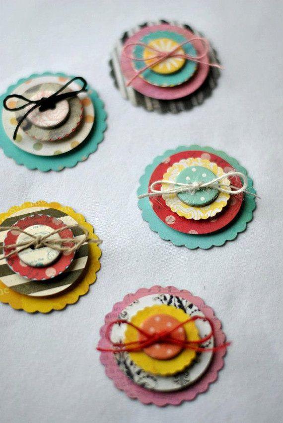 Scrapbook Embellishments 3D Embellishments by SoScrappyHappy
