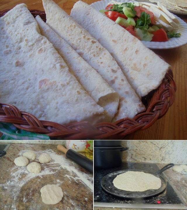 Ev Ekmeği (Kepekli Ekmek)  -  Nesrin  Kismar #yemekmutfak.com Ev ekmeğini her zaman yapamıyorum. Genellikle sakin bir hafta sonu sabahı bence yapılacak en güzel şey. Yıllar önce hayatımda ilk defa gittiğim köyümde kayınvalidem bir ritüel gibi iki günde bir koca bir leğende hamur mayalar, yanan ateşin üzerindeki saçta elleriyle açtığı bu ekmekleri pişirirdi. O nasıl bir undu ki beyaz un olduğu halde bizim buralarda satın aldığımız gibi bembeyaz değildi.
