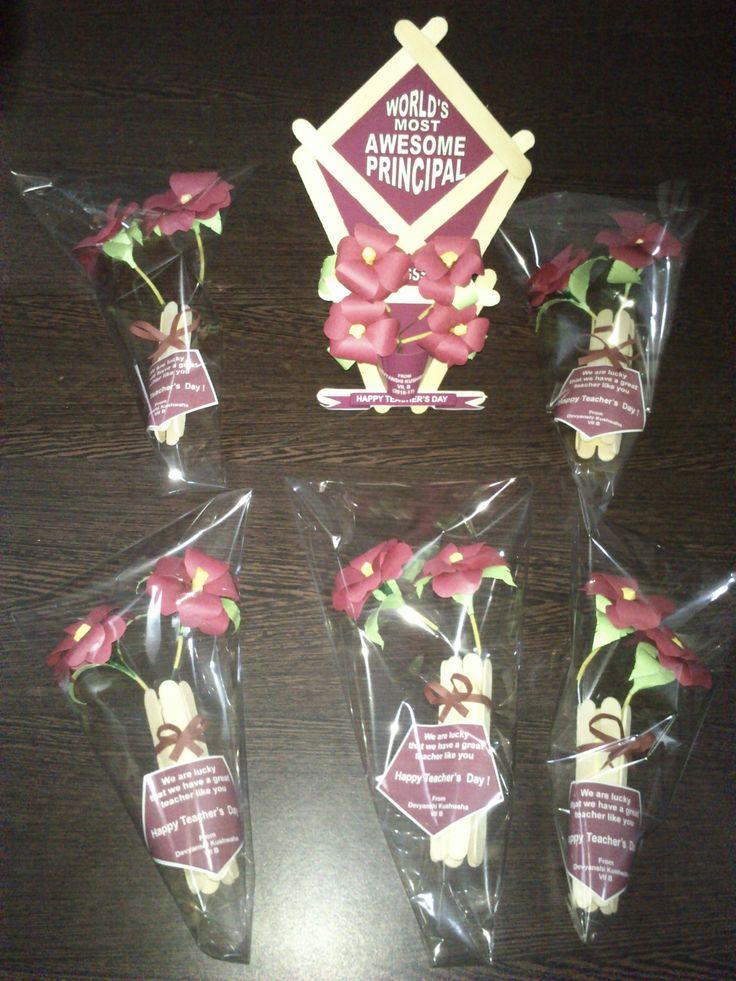 Paper craft bouquets