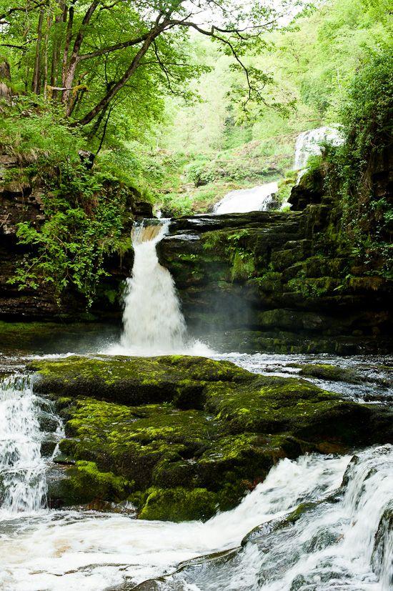 Brecon Beacons waterfalls, Wales. via Cookyourdream.com