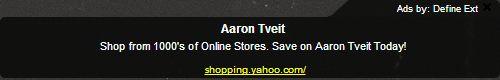 Sold!  Send me my Aaron Tveit <3 :)