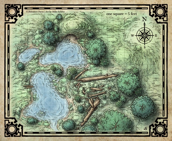 Modest image in d&d printable maps