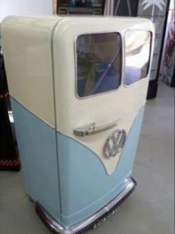 Fantastic Branded Fridge in the shape of an old school mini van