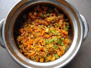 AISHU KITCHEN: Carrot beans poriyal