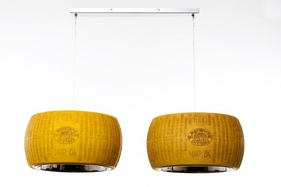 Parmesan Cheese Lamp Twins