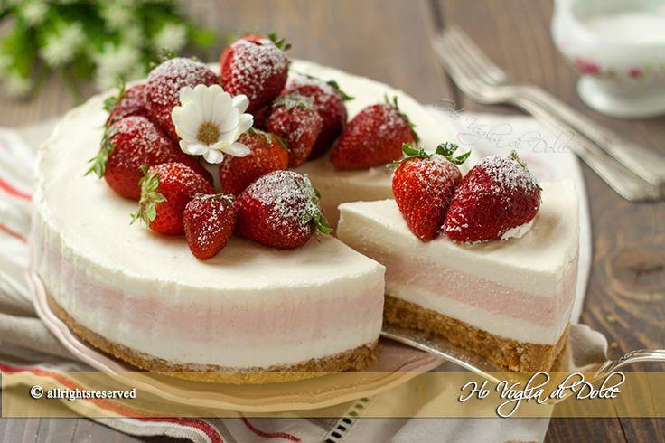cheesecake-fragole-e-limone-ricetta