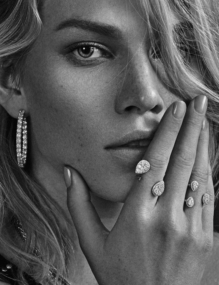 Aline Weber Shines in Jewelry Looks for Rabat Magazine Winter 2015-2016 by Xavi Gordo