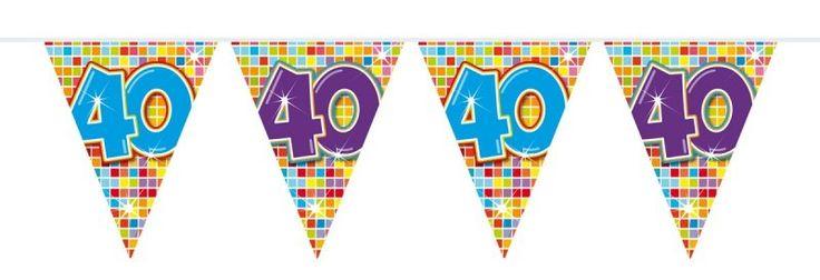 Vlaggenlijn afbeelding 40 (serie blocks) - makkelijk feestje