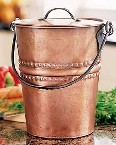 the compost pail with a romantic history supply