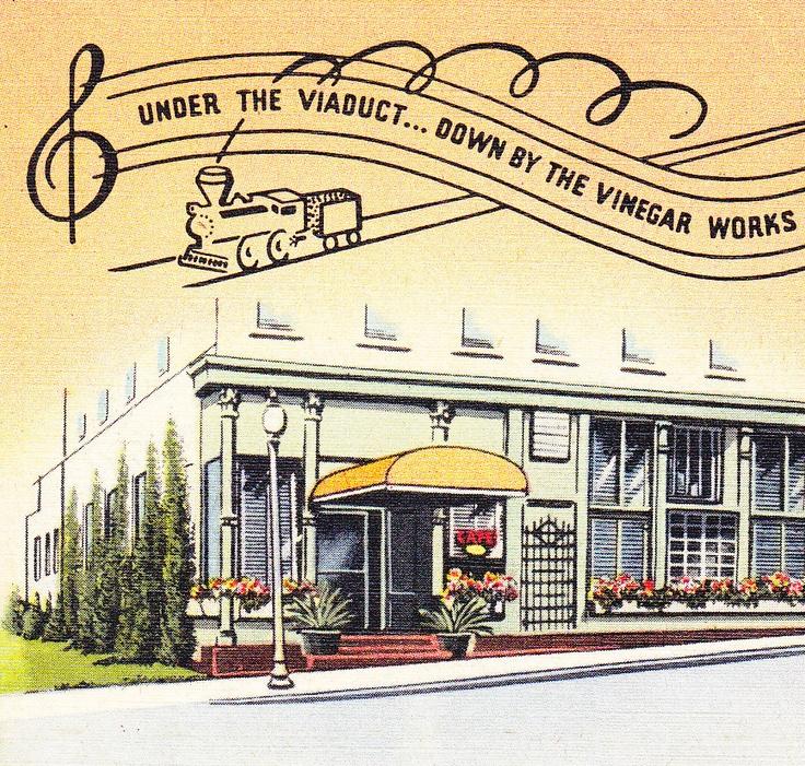Stone's Restaurant- Marshalltown, Iowa- under the viaduct, home of the mile high lemon pie