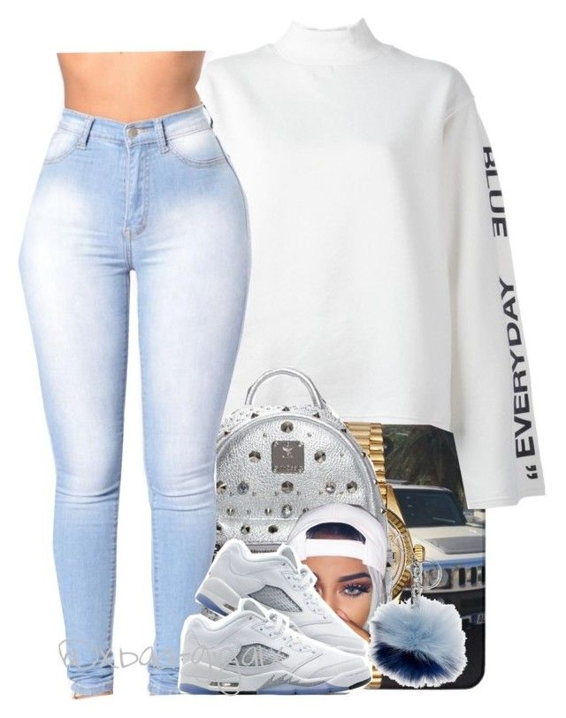 """431"" by xbad-gyalx ❤ liked on Polyvore featuring Steve J & Yoni P, Rolex, MCM, Jordan Brand and Michael Kors"