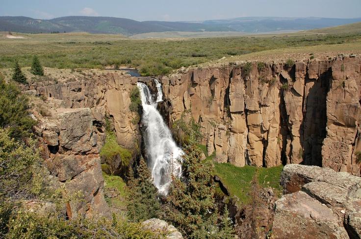 North Clear Creek Falls, Lake City Colorado